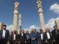 پایان سفر جهانگیری پس از بازدید از جاذبههای تاریخی فارس