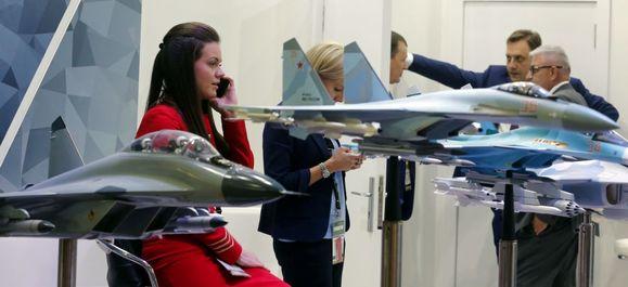 غرفه روسیه در نمایشگاه بین المللی تسلیحات EDEX 2018 در مصر