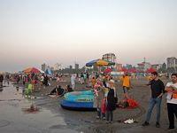 وضعیت قرمز در سواحل مازندران +عکس