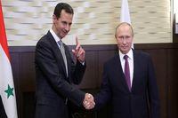 پوتین خواستار خروج نیروهای خارجی از سوریه شد