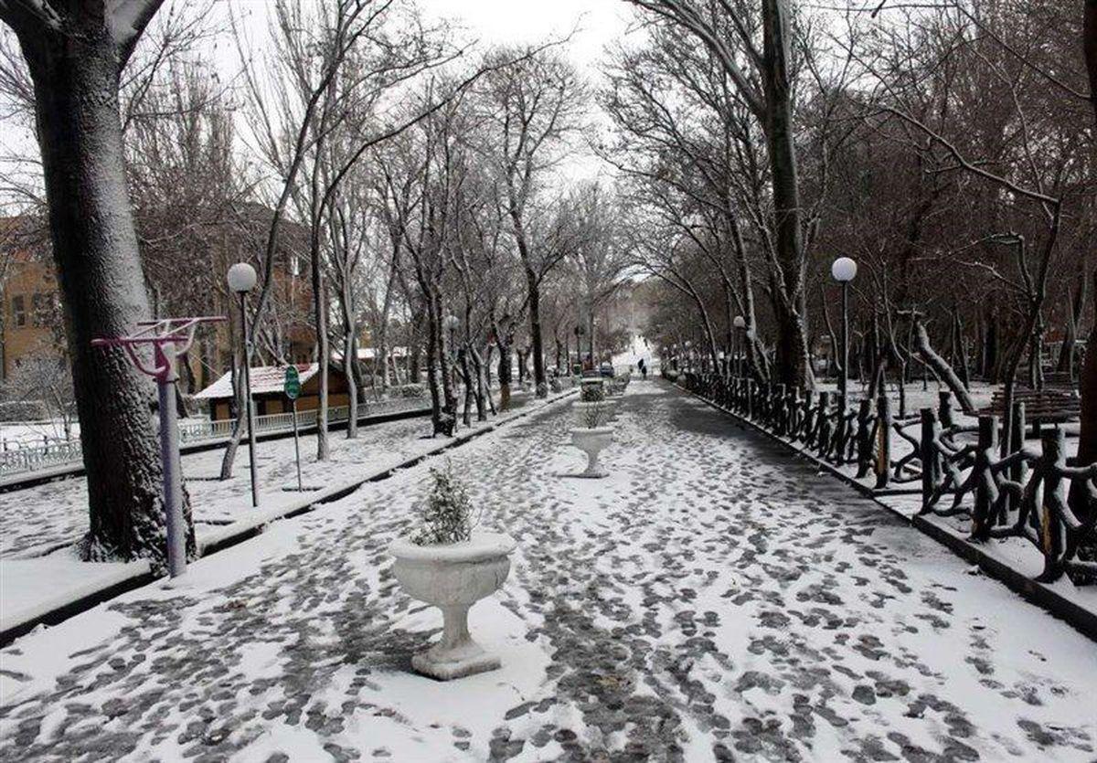برف و باران در راه ایران