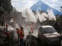 افزایش تلفات فوران آتشفشان در گواتمالا به 99نفر