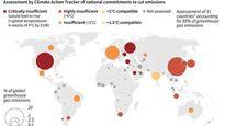 میزان پایبندی کشورهای مختلف به تعهدات نشست آب و هوایی پاریس