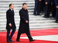 سوغاتی ۱۵میلیون دلاری ماکرون از چین برای فرانسه