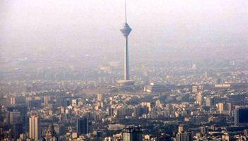 هوای تهران باز هم ناسالم شد