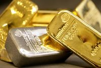 پایان هفته منفی فلزات گرانبها / فلز زرد پشت سد ۱۸۰۰دلاری