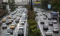 ترافیک بزرگراههای تهران در صبح شنبه +عکس