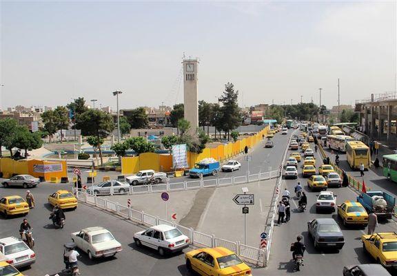میدان مطهری قم فرونشست