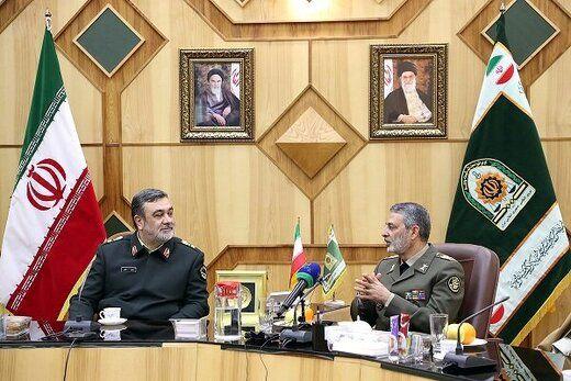 فرمانده ارتش: میخواهند امنیت ایران را خدشهدار کنند
