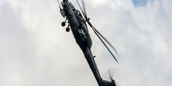 سقوط یک فروند بالگرد ائتلاف سعودی در شرق یمن