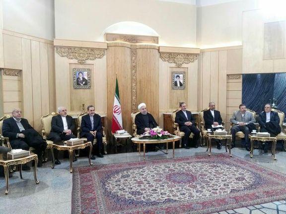 روحانی: ثبات امنیت و توسعه منطقه هدف ایران است