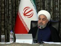 روحانی: ٩٠درصد مخارج بیماران کروناییر ا دولت و بیمه پرداخت میکند +فیلم