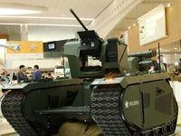 خودروی جنگی بدون سرنشین +تصاویر