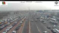آزادراه تهران-قم، محدوده عوارضی +تصویر