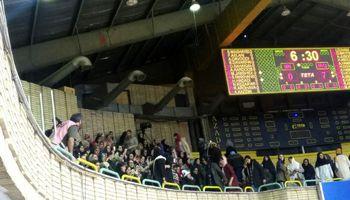 حضور زنان در سالن بسکتبال آزادی +عکس