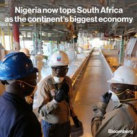نیجریه به لطف نفت بزرگترین اقتصاد آفریقا شد