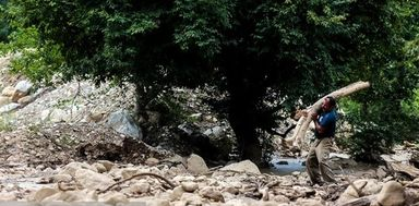 سیل در استان گلستان