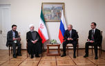 روحانی در دیدار رئیس جمهور روسیه +تصاویر