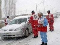 نجات 9گرفتار شده در برف و کولاک البرز
