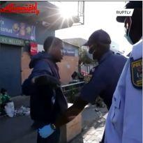 ارتش آفریقای جنوبی به کمک دولت آمد +فیلم