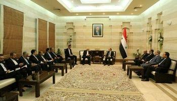 دیدار ظریف و نخست وزیر سوریه