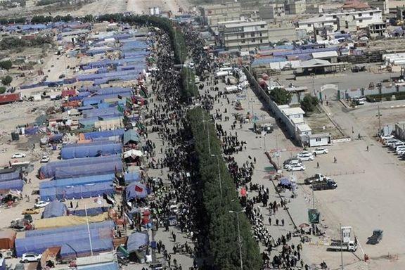 3.5میلیون زائر از مرزهای زمینی وارد عراق شدهاند