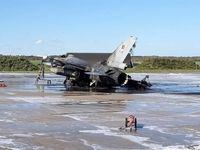 آتش خودی علت نابودی اف-۱۶ بلژیک