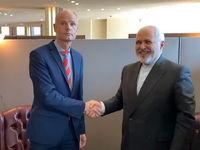 دیدار وزیران خارجه ایران و هلند در نیویورک