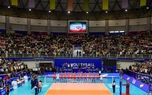 دیدار تیمهای والیبال ایران و کانادا +تصاویر