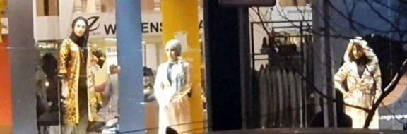 جنجال استفاده از مانکن زنده در فروشگاههای تهران +عکس