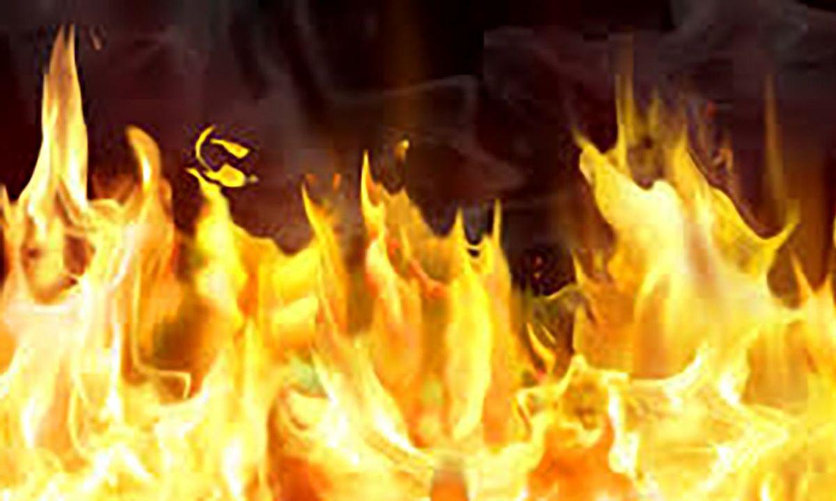 مرگ دردناک کارگر جوان در آتش سوزی