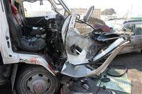 تصادف خونین ۴ خودرو در جاده کرج +عکس