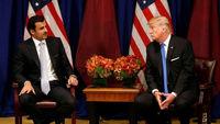 گفتوگوی ترامپ با امیر قطر