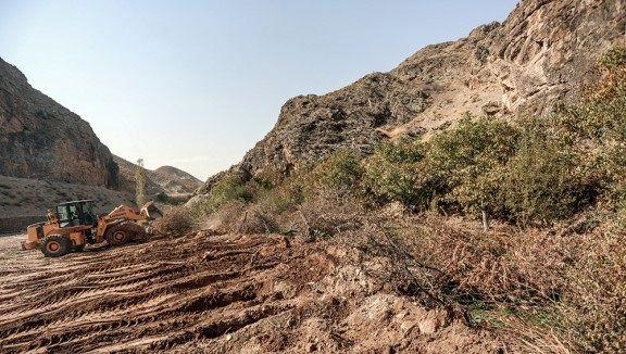 ۵۰هزار مترمربع از اراضی فرودگاه کرمان رفع تصرف شد