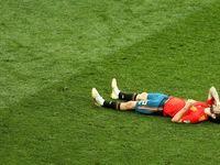 حذف اسپانیا از جام جهانی در ضربات پنالتی +تصاویر