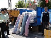 کشف ۷۵۰میلیونی کالای قاچاق در خیابان خیام