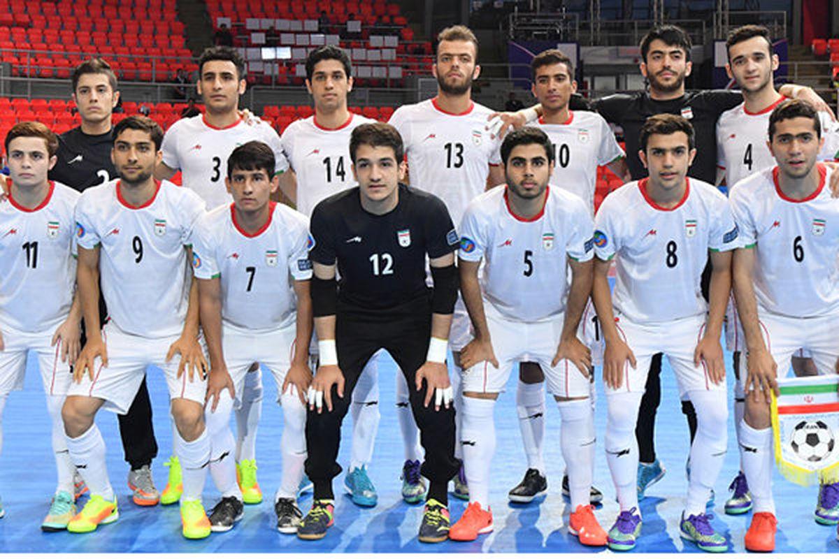 تیم فوتسال زیر ٢٠ سال ایران قهرمان آسیا شد