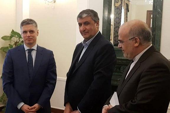 دیدار اسلامی با وزیران زیرساخت و امور خارجه اوکراین