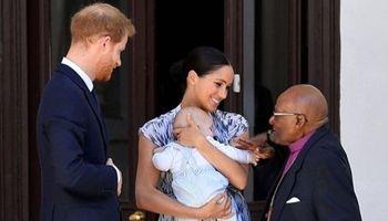 اولین تصاویر واضح منتشر شده از کوچکترین شاهزاده انگلیس