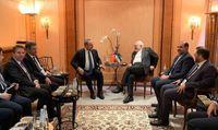 رایزنی ظریف و چاووشاوغلو در مورد اقدامات آمریکا در عراق