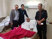 شمسایی دوباره در بیمارستان بستری شد +عکس