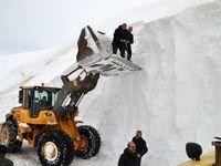 برف 10متری دیدهاید؟ +تصاویر