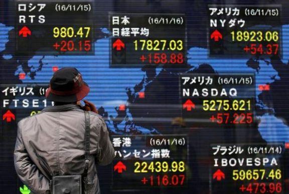 سهام آسیا رشد کرد