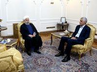 دیدار رییس جمهور با شهردار تهران