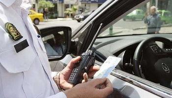 جریمه ۱۰۰هزار تومانی استفاده از تلفن همراه حین رانندگی