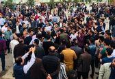 تظاهرات در کردستان عراق برای کاهش حقوق کارمندان +عکس