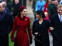 تیپ کریسمس خانواده سلطنتی انگلیس +تصاویر