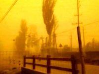 طوفان شدید شن در چین +فیلم