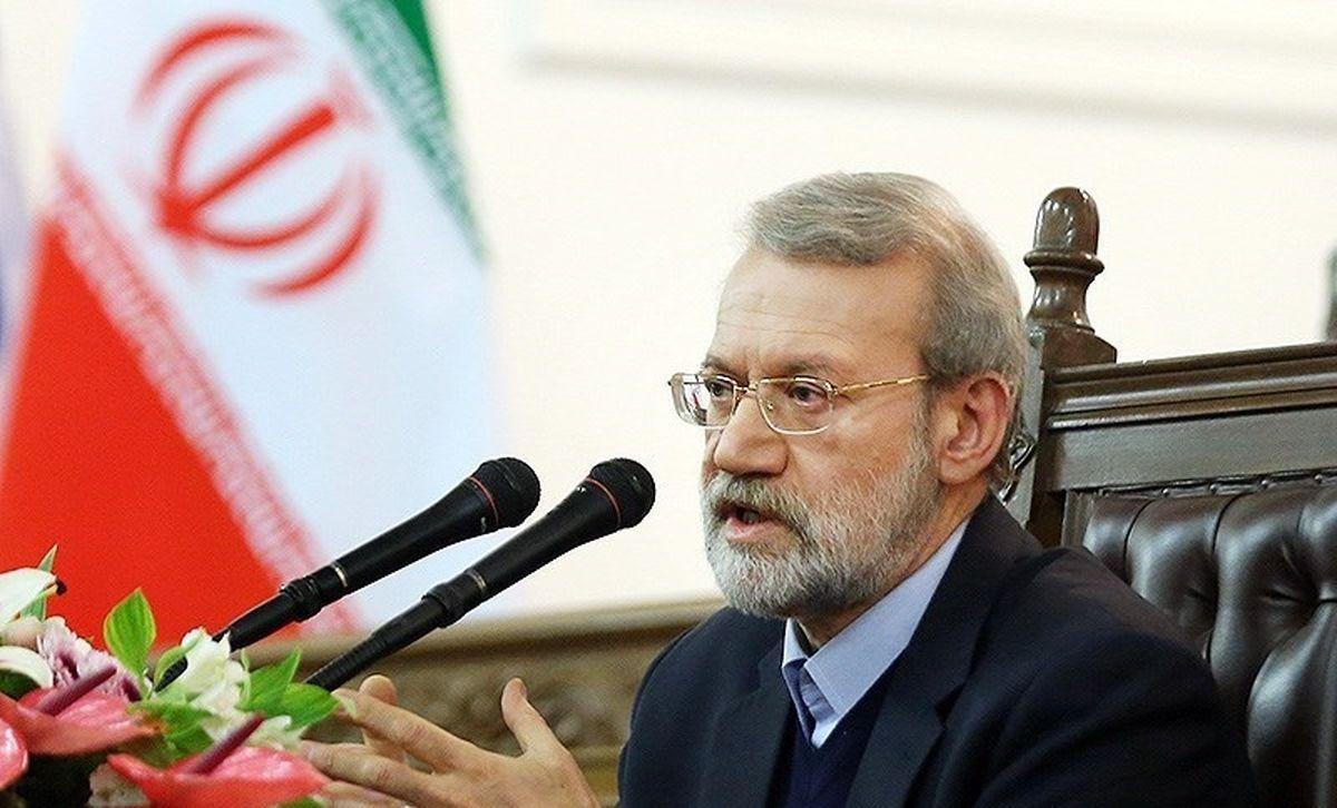 بازدید لاریجانی از ستاد انتخابات کشور +عکس