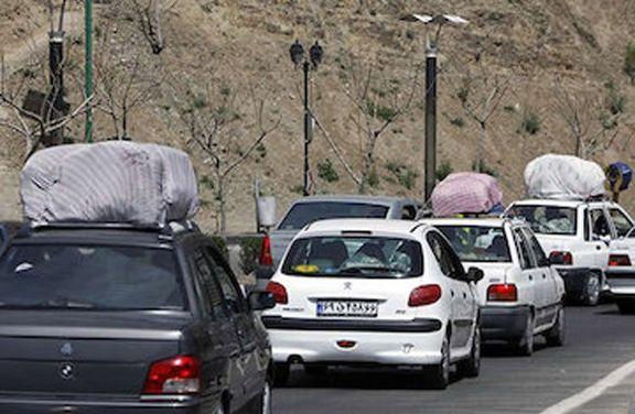 افزایش ۱.۲درصدی تردد در جادههای کشور طی دیروز